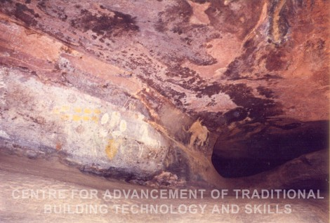 Prehistoric Paintings inside the Caves