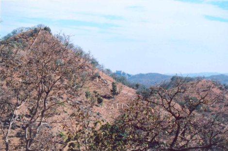 First Glimpse of Kumbhalgarh Fort
