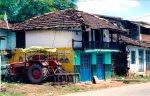 Vernacular houses en route Pachmarhi