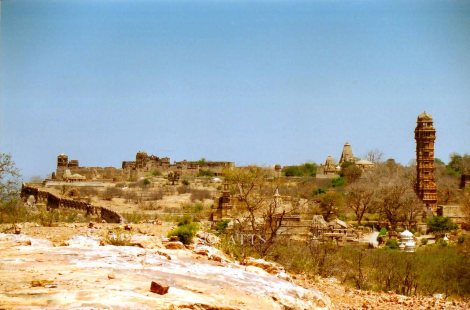 Palaces, Temples, Chhatris and Ruins at Chittorgarh