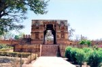 Entrance to Vijay Stambh, Chittorgarh