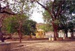 Temple, Sagar Lake