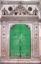 Intricate inlay work in Jain Temple
