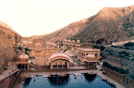 Galtaji Shrine near Jaipur