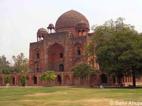 Sahil Ahuja Rahim Khan-i-Khana's Tomb Delhi (1)