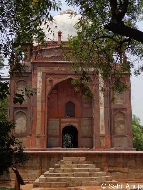 Barber's Tomb Sahil Ahuja India Heritage Hub New Delhi