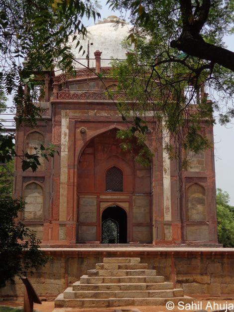 Barber's Tomb Sahil Ahuja India Heritage Hub New Delhi